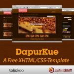 Dapurkue – Free XHTML/CSS E-Commerce Template