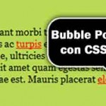 Bubble Point Tooltips con CSS3 & jQuery